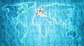 European Union Territory On World Map