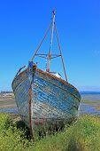 Ship wreck, France