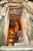 Buda Vent marco pared vieja