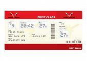 Billetes de avión primera clase