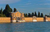 Venice cemetary at saint Michael island