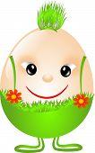 Easter Egg In Pantaloons