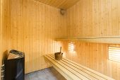 image of sauna  - Sauna interior  - JPG