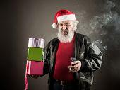 Grumpy Santa Claus