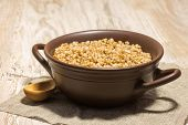Buckwheat Cereal Wooden Spoon