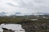 Continental glacier in Norway.