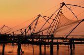 chinesische Fisching Netze