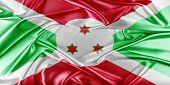 stock photo of burundi  - Burundi Flag - JPG