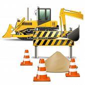 picture of bulldozer  - Bulldozer - JPG
