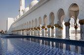 Walkway Sheikh Zayad Mosque