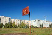 A Basketball Post