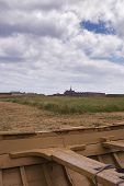 picture of acadian  - a view of the main fortress from a distance - JPG