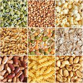 Food Ingredients Collage