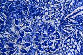 Flower Patterns On Texture