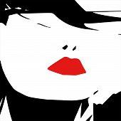 Sexy Woman Lips