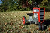 Red Toy Tractor poster
