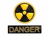 Danger Radioactive Sign