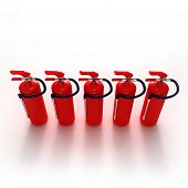 Line Of Fire Extinguishers