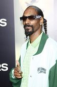 LOS ANGELES - AUG 4:  Snoop Dogg arriving at the premiere of Screen Gems' 'Takers' at the Arclight C