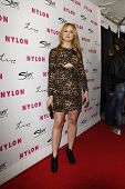LOS ANGELES - MAR 24:  Kaylee DeFer at the 12th Anniversary Issue party for Nylon magazine at Tru Ho
