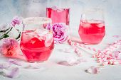 Light Rose Cocktail, Rose Wine poster