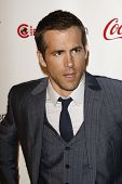 LAS VEGAS - MAR 31: Ryan Reynolds arrives at the CinemaCon awards ceremony at the Pure Nightclub at Caesars Palace in Las Vegas, Nevada on March 31, 2011.