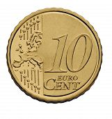 10 Cent Euro Coin
