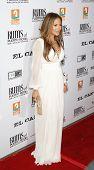 LOS ANGELES - 31 de JUL: Jennifer Lopez en el estreno de 'El Cantante' celebrada en gremio o de la dirección