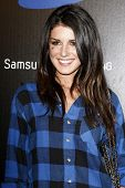 LOS ANGELES - MAY 12:  Shanae Grimes at the launch party of the SAMSUNG INFUSE 4G at Milk Studios in