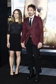 LOS ANGELES - MAY 19: Robert Downey Jr, wife Susan at the premiere of 'The Hangover Part II' held at