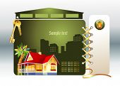 foto of web template  - The real estate - JPG
