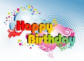 picture of happy birthday card  - happy birthday - JPG