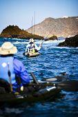 Kayak Fishermen