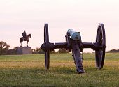 Cannons At Manassas Battlefield