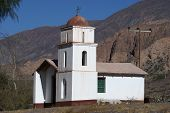Very Old Church In Northern Argentina