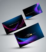 Futuristic vector set of cards ( elements of design)
