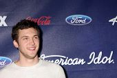 LOS ANGELES - MAR 1:  Phillip Phillips arrives at the American Idol Season 11 Top 13 Party at the Th