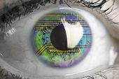 Electronic Circuit An Human Eye