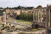 Roman Forum Ruines