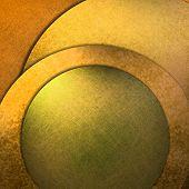Gold Abstract Modern Art Background