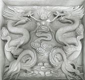 Chinese Firedrake Relief poster
