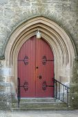 Cardross Church Arched Door