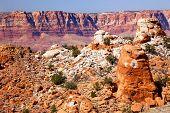 Red Mesa Orange Rocks Canyon Arizona