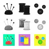 Vector Design Of Craft And Handcraft Symbol. Collection Of Craft And Industry Vector Icon For Stock. poster