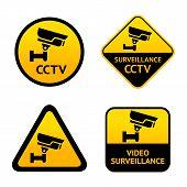 Video surveillance, set labels
