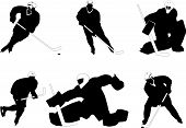 Group Of Hockey Players