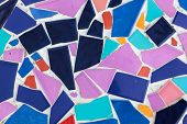 Colorful Tile Pattern Background
