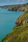 South Devon England coastline
