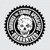 Survives the Zombie Apocalypse / Guaranteed Seal