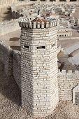 Постер, плакат: Древний Иерусалим Башня Psefanus